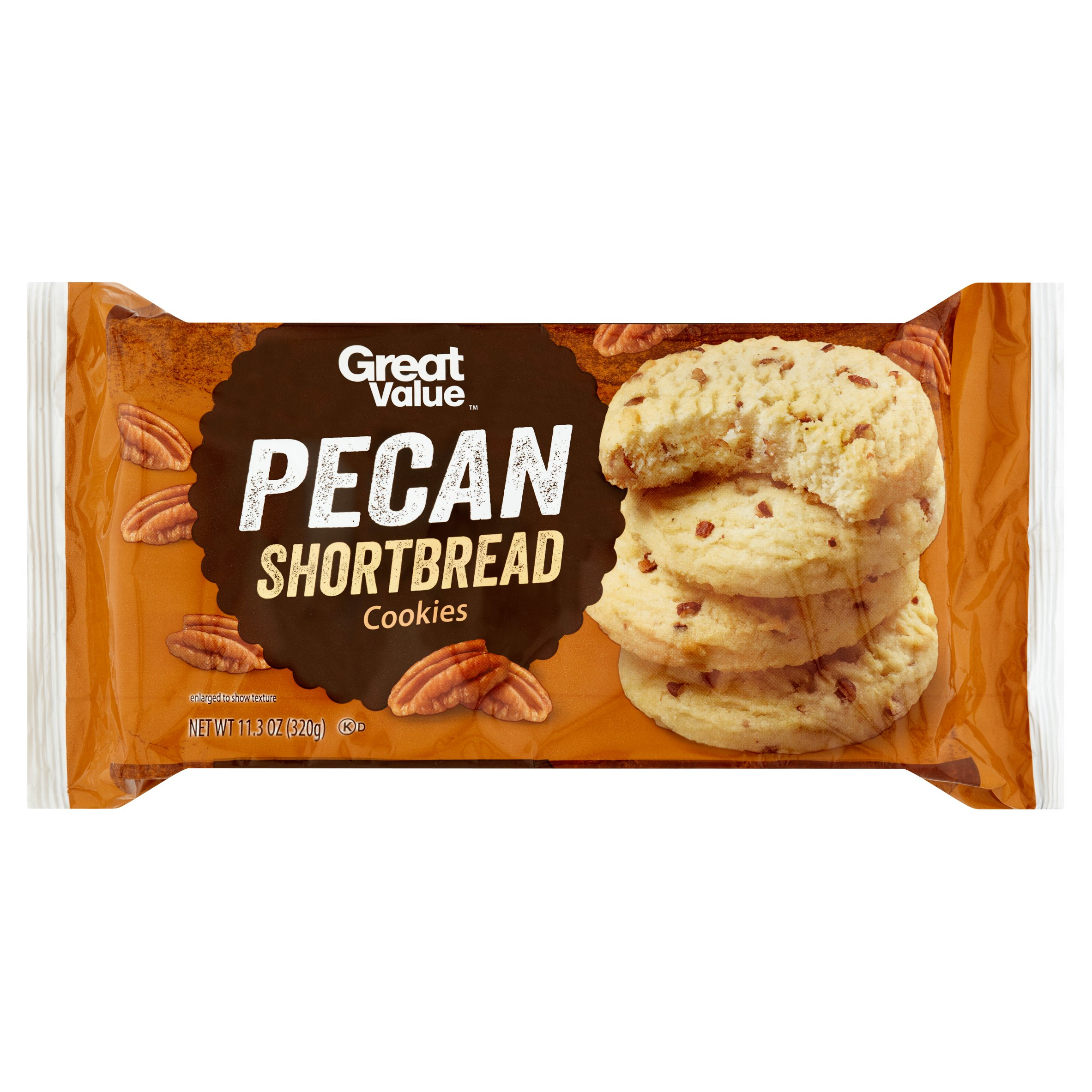Great Value Pecan Shortbread Cookies, 11.3 oz by Wal-Mart Stores, Inc.