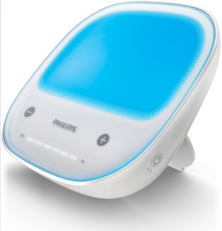 Philips GoLITE BLU Energy Light Therapy, Rechargeable, HF3429