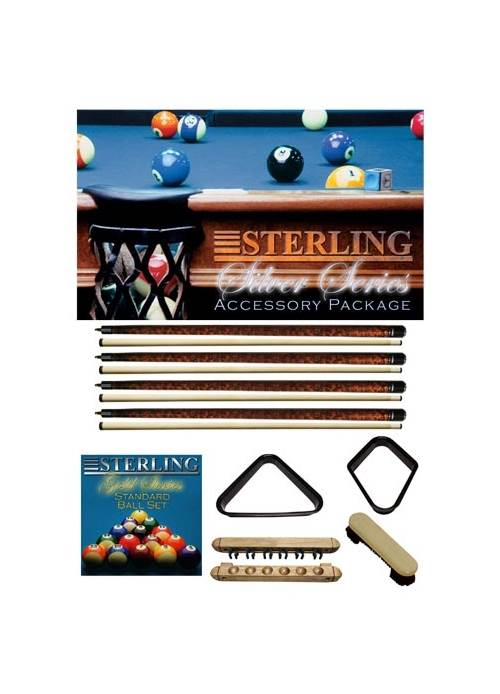 Sterling Gaming Economy Plastic Pool Ball Triangle in Black