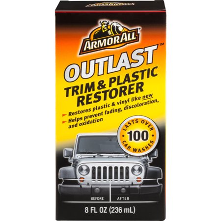 Armor All Outlast Trim & Plastic Restorer, 8 oz, Car