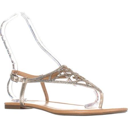 514d5f455c47c0 I35 - Womens I35 Matisse Buckle Flat Glitter Sandals
