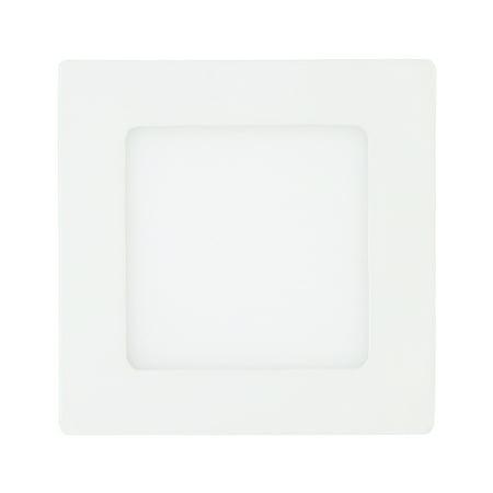 312 Ultra Flush - TKOOFN 18W LED Recessed Panel Light Flush Mount Ceiling Light Ultra Slim Square Downlight White