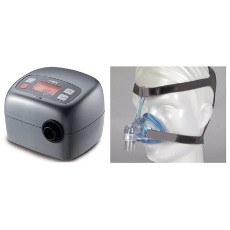 Bundle Deal: XT Fit Travel CPAP Machine (SF01101) with Ascend Nasal CPAP Mask System (50174) by Apex Medical and Sleepnet (No Tax)