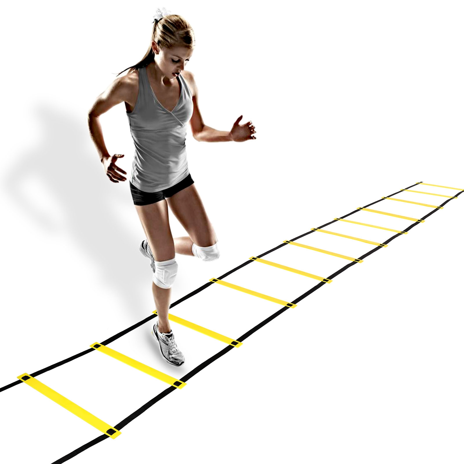 Ancheer Durable 12 Rung Agility Ladder For Soccer Speed