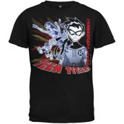 Teen Titans - Techno Robin Black Youth T-Shirt