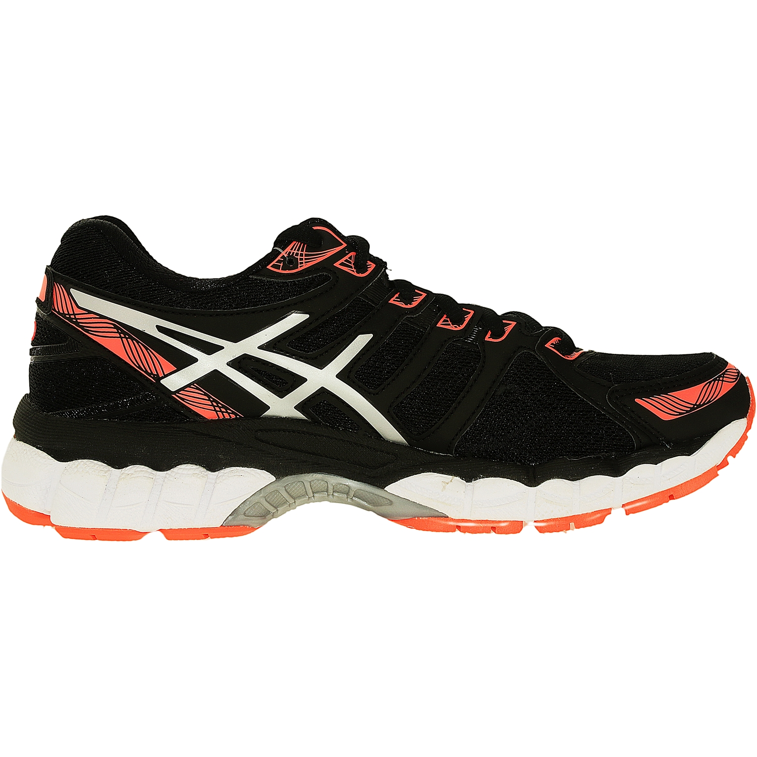 a14670bf3623 ASICS - Asics Women s Gel-Evate 3 Black Silver Flash Coral Ankle-High Running  Shoe - 8M - Walmart.com