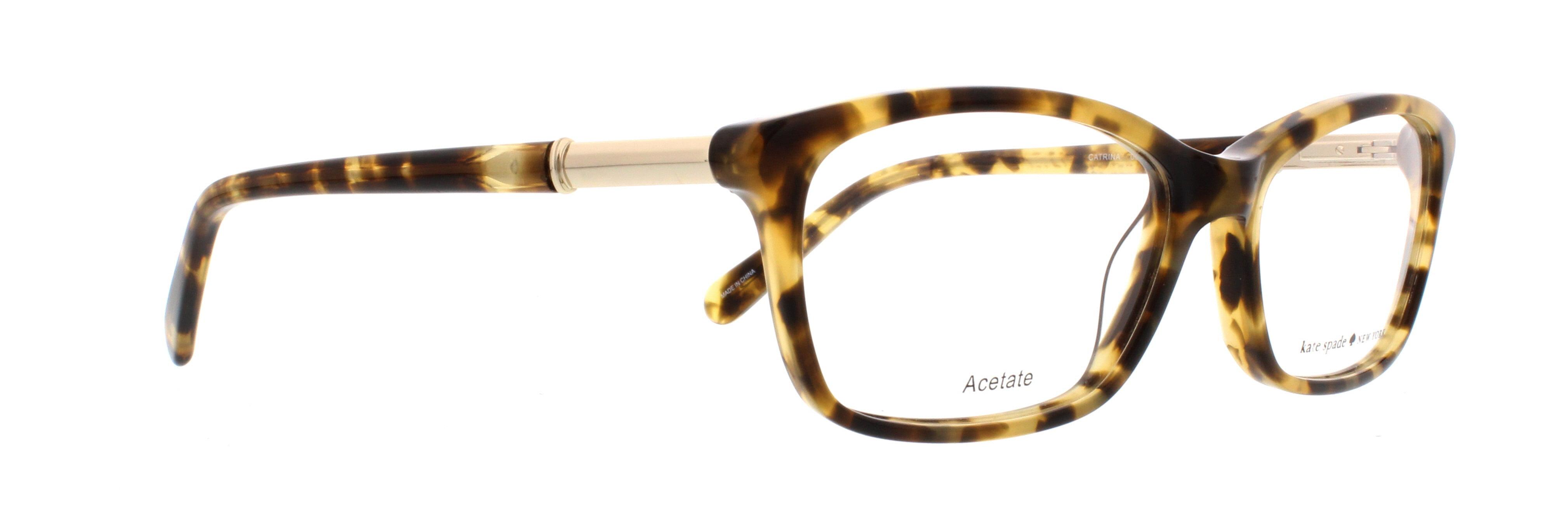 7a7ea1614f KATE SPADE Eyeglasses CATRINA 0ESP Camel Tortoise 53MM - Walmart.com