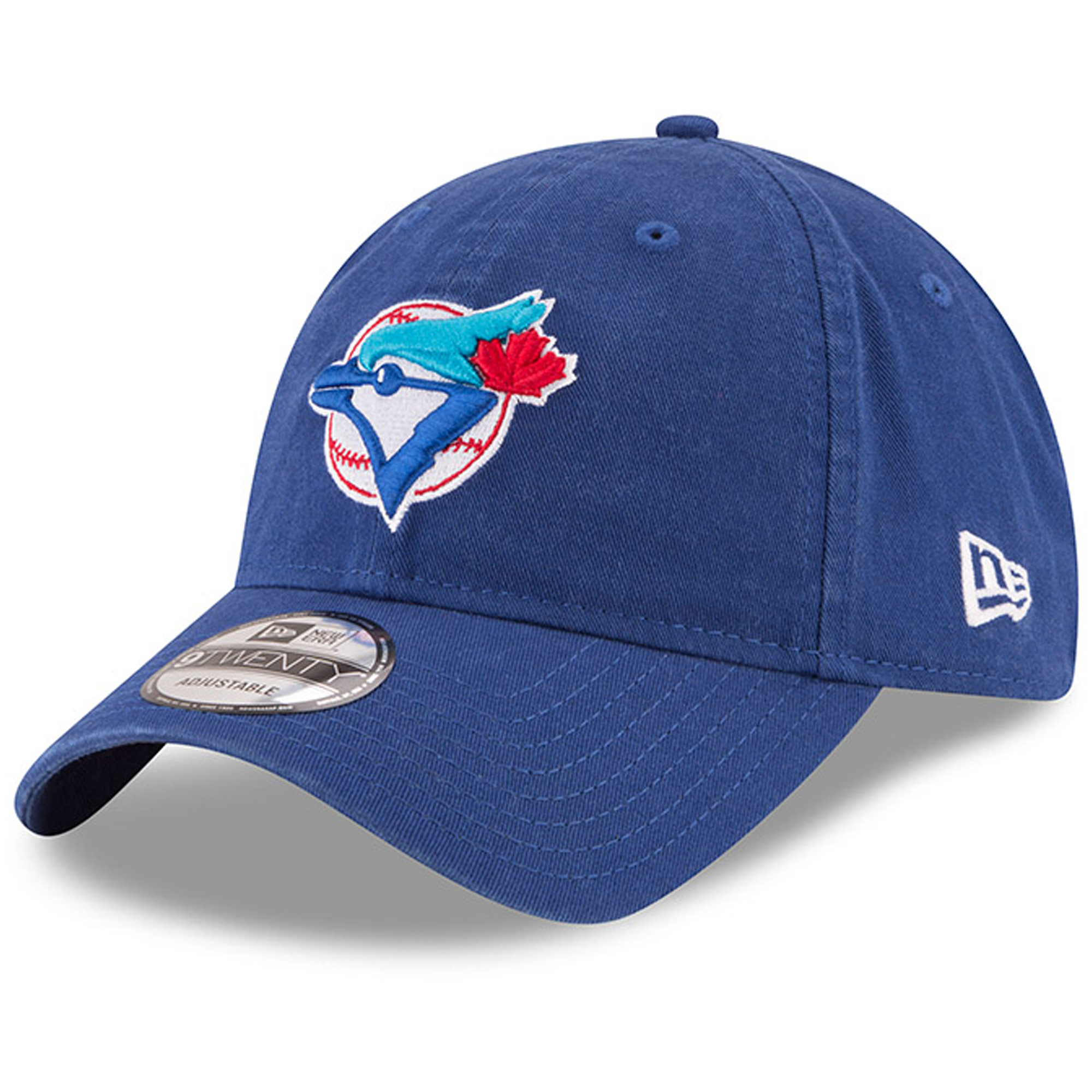 Toronto Blue Jays New Era Cooperstown Collection Core Classic Replica 9TWENTY Adjustable Hat - Royal - OSFA