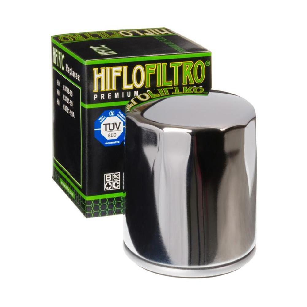 HiFlo HF171C Oil Filter - Chrome