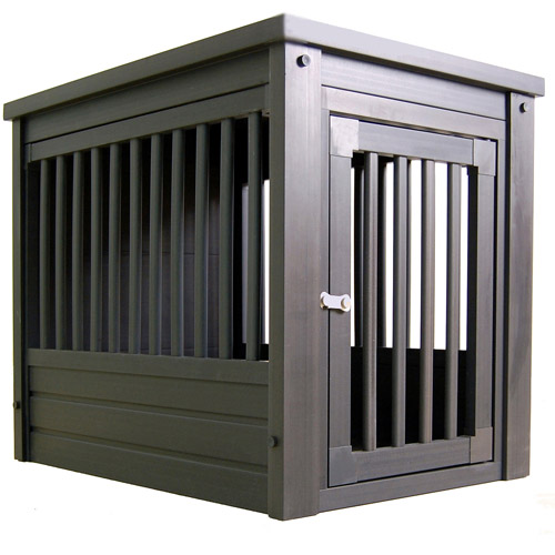 Xtra Large Dog Crate End Table Espresso