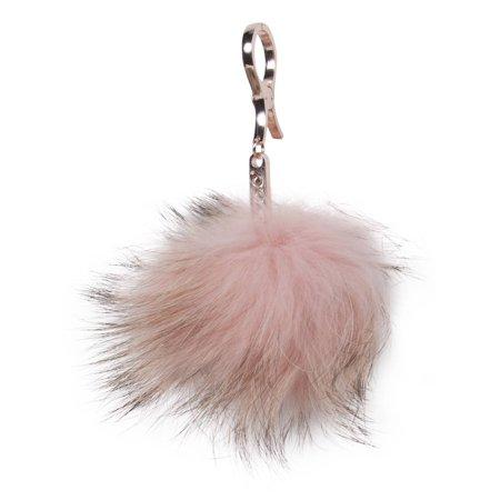 Faux Fur Cell Phone Purse Key Chain ()