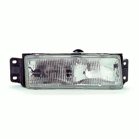 Assembly Cutlass (1991-1996 Oldsmobile Cutlass Ciera  Passenger Side Right Head Lamp Assembly 16520814-V)
