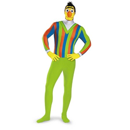 Adult Male Sesame Street Bert Bodysuit Costume by Disguise 76936