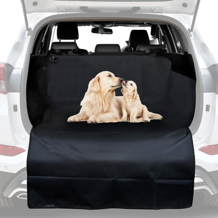 GLiving SUV Cargo Liner for Dogs - Dog Car Seat Covers Pet Seat Cover for Vans, Suv Unniversal - Black, Waterproof Nonslip Backing and (Hagen Pet Cargo)