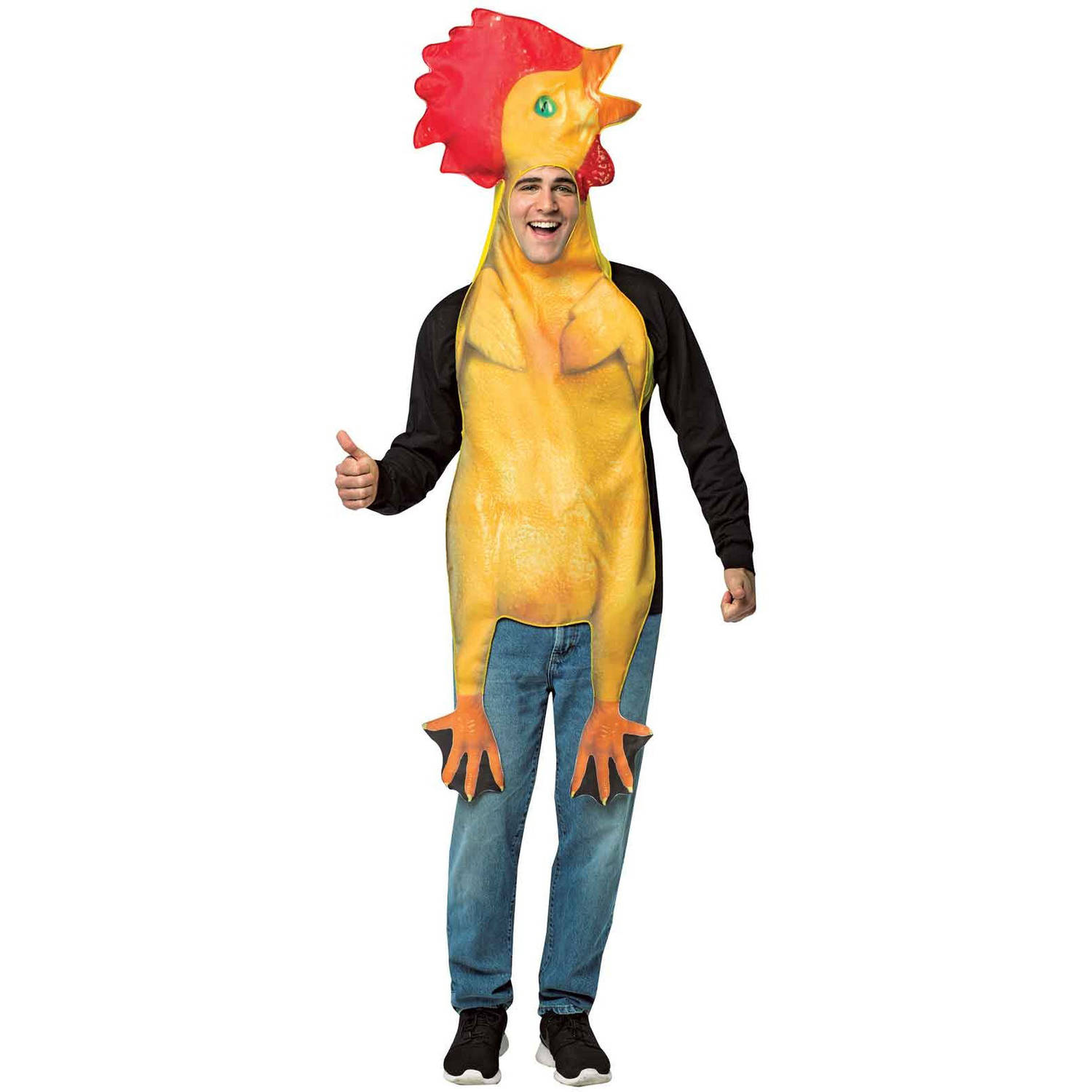 Rubber Chicken Men's Adult Halloween Costume