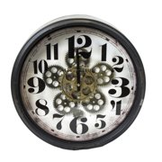 Sagebrook Home 16 in. Moving Gear Wall Clock