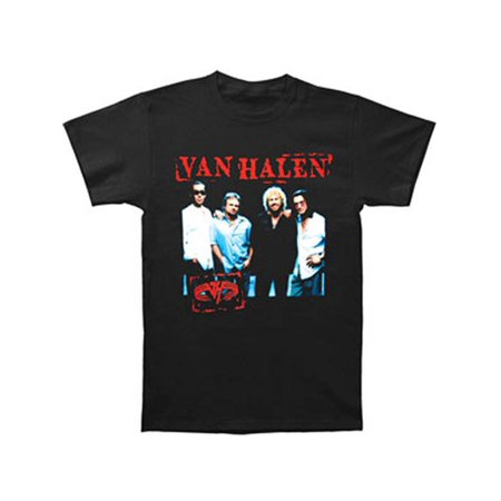 Van Halen Men's  Stamp 04 Tour T-shirt Black