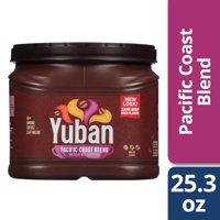 Yuban Mild Roast Pacific Coast Blend Ground Coffee, Caffeinated, 25.3 oz Can