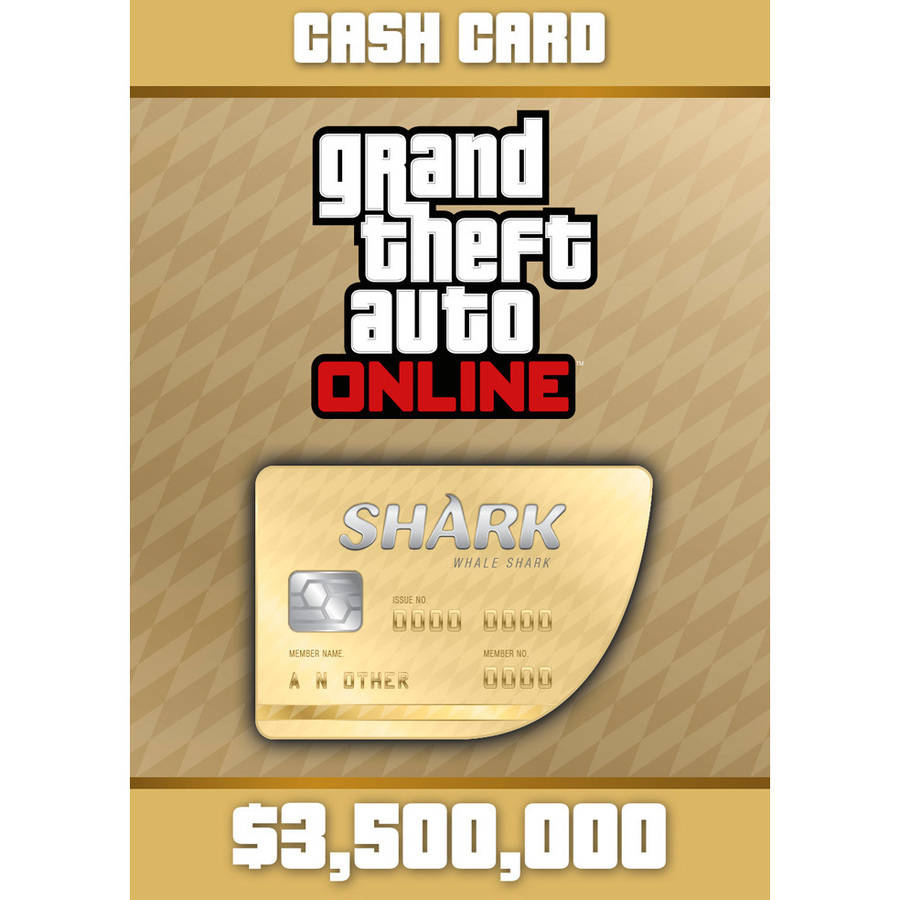 Grand Theft Auto Online - Whale Shark Cash Card (PC) (Email Delivery)