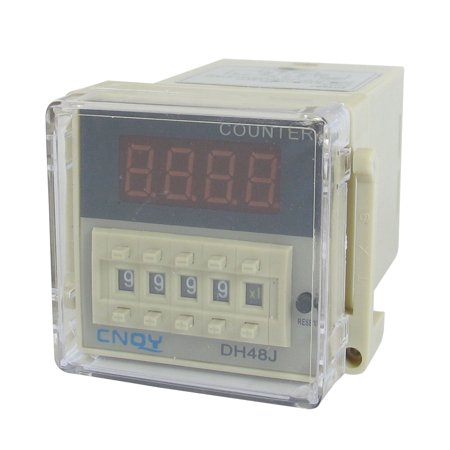 DH48J /DC 24V 50/60Hz Count Up 8 Pins 1-999900 Digital Counter Relay