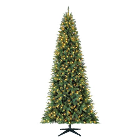 Holiday Time Pre-Lit 9' Williams Pine Artificial Christmas Tree, Led Clear-Lights ()