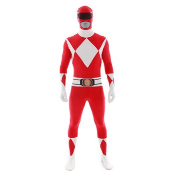 Red Power Rangers Morphsuit Costume](Power Ranger Suits For Sale)
