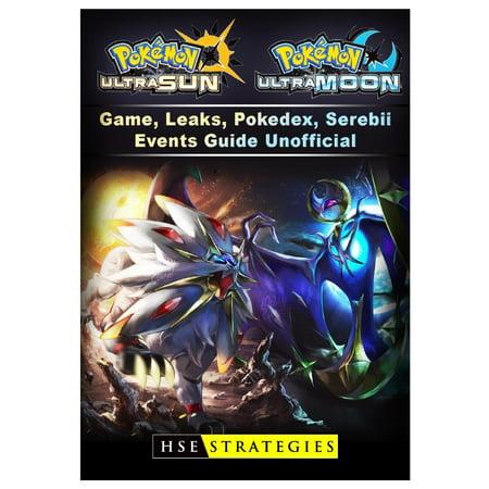 Pokemon Ultra Sun and Ultra Moon Game, Leaks, Pokedex, Serebii, Events,