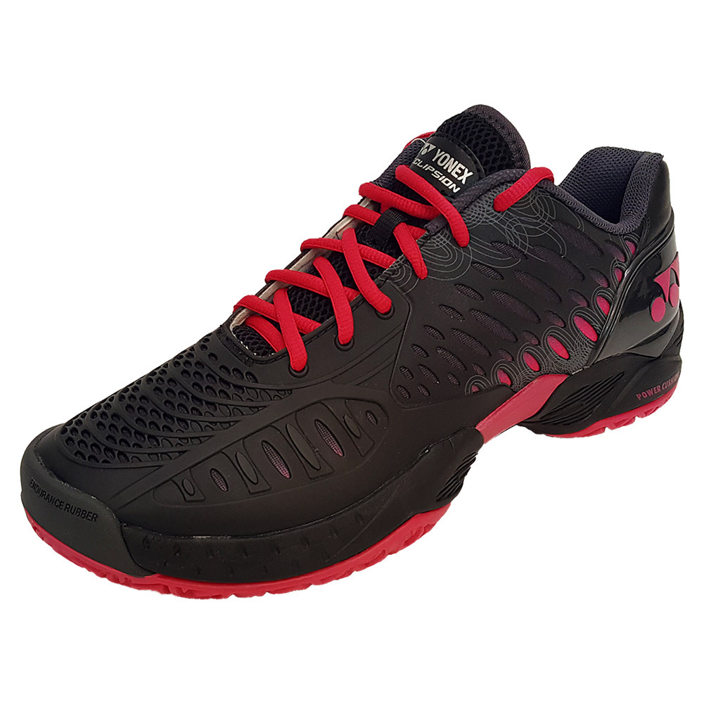 Yonex Men`s Power Cushion Eclipsion Tennis Shoes Black an...