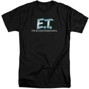 ET Logo Mens Big and Tall Shirt