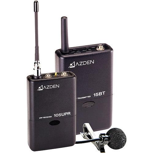 Azden 105LT 105 Series UHF Wireless Microphone System wit...