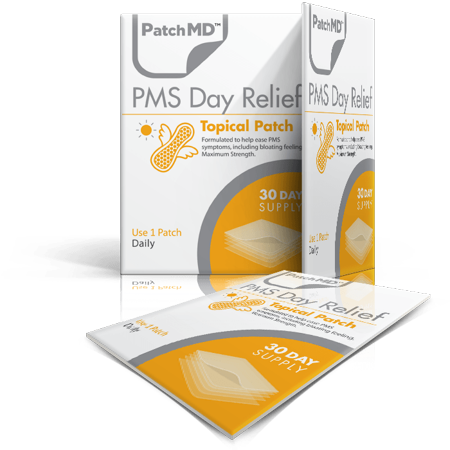 PMS Day Relief Patch topique (approvisionnement de 30 jours) par PatchMD