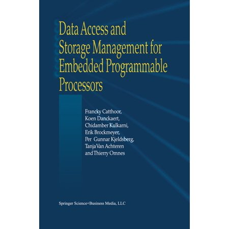 Data Access and Storage Management for Embedded Programmable Processors - eBook
