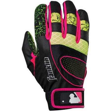 Franklin Sports MLB Youth Insanity Batting Gloves
