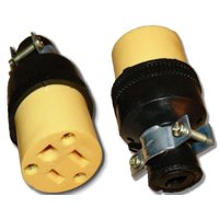 Wholesale 20 Pack Heavy Duty 3-Prong Female Electrical Plug Replacement 125V 15A