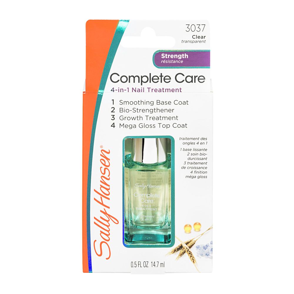 Sally Hansen Complete Care Strength 3037 Clear, 0.5 FL OZ