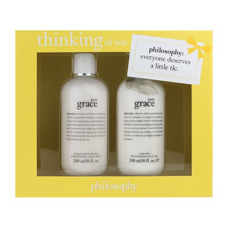 Grace Gift Set - Philosophy Thinking of You Gift Set Pure Grace 3 In 1 Bath & Body Lotion 8.0Oz