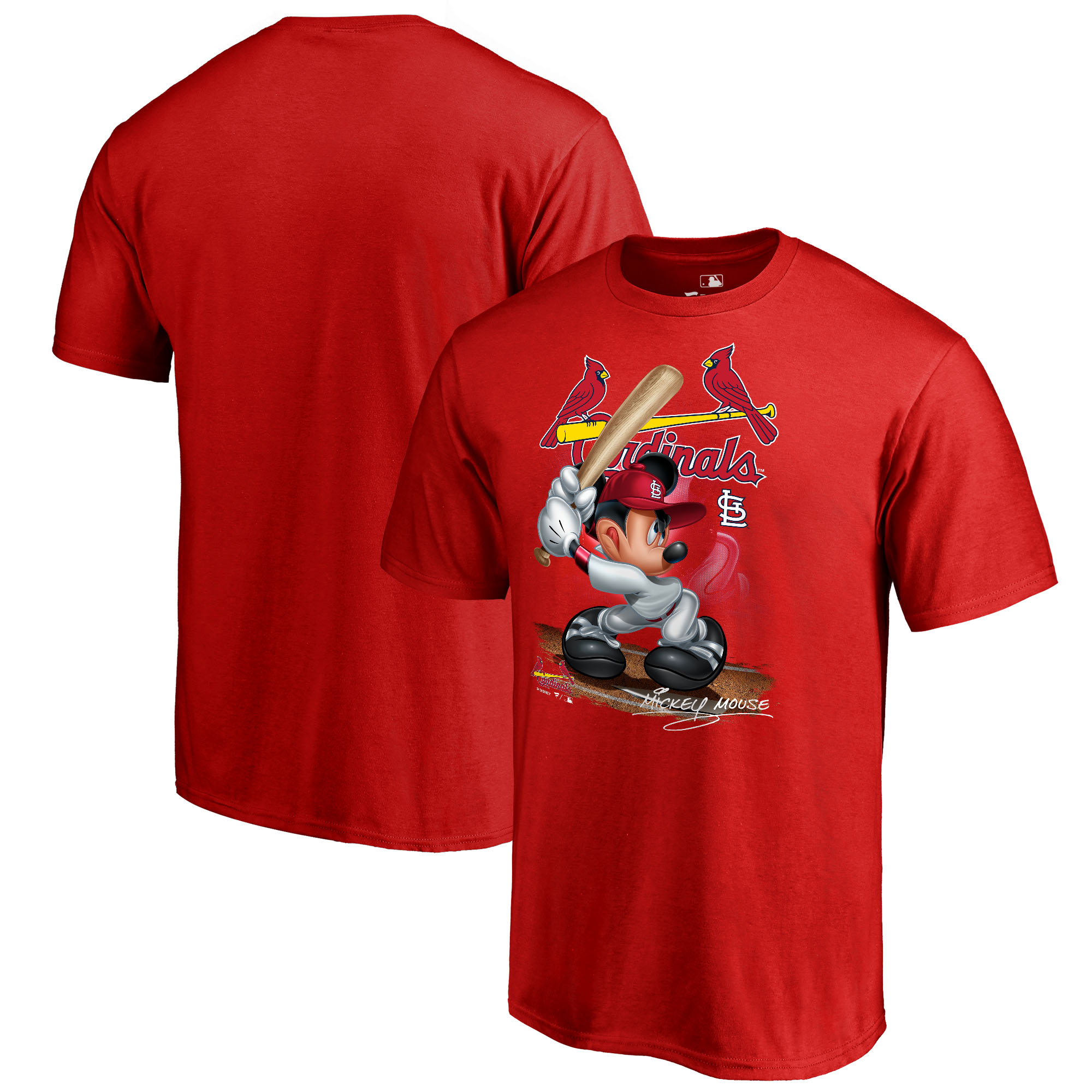 St. Louis Cardinals Fanatics Branded Disney All Star T-Shirt - Red