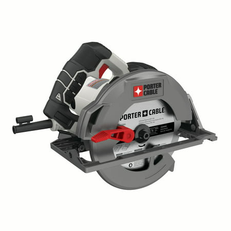 PORTER CABLE 15-Amp 7-1/4-Inch Heavy Duty Magnesium Shoe Circular Saw, Corded, PCE310