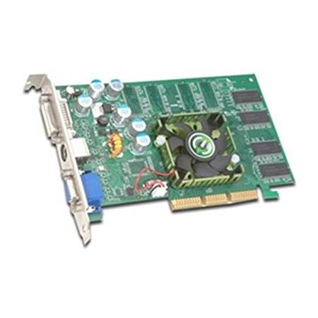 evga 256 A8 N313 Sub/ S-Video Out/ AGP 4X/8X Video Graphics Card Mfr P/N 256-A8-N313-BX (256 Video)