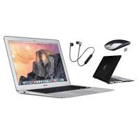 Apple Macbook Air 11.6-inch Retina Display [1.6Ghz] [4GB RAM] [128GB SSD] - Bundle Includes: Generic Case, Wireless Headset, Bluetooth Mouse & 1 Year Warranty - (Scratch&Dent)
