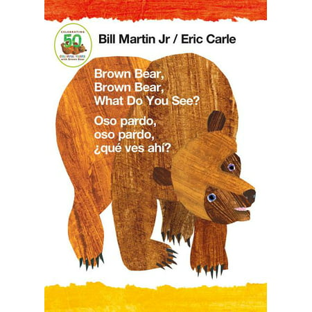 Halloween Brown Bear Book (Brown Bear Brown Bear What Do You See Os (Board)