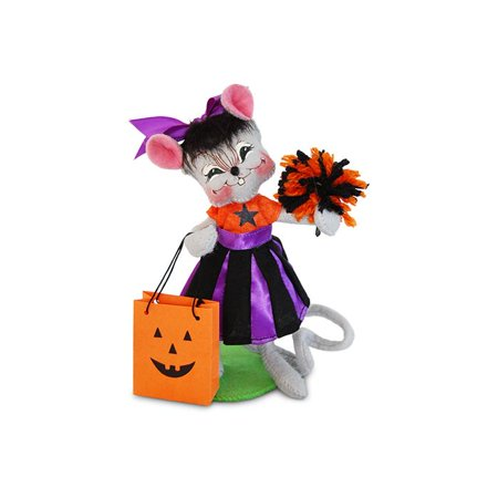 Annalee Dolls 6in 2017 Halloween Trick or Treat Cheerleader Plush New with Tags (Kinder Surprise Halloween 2017)