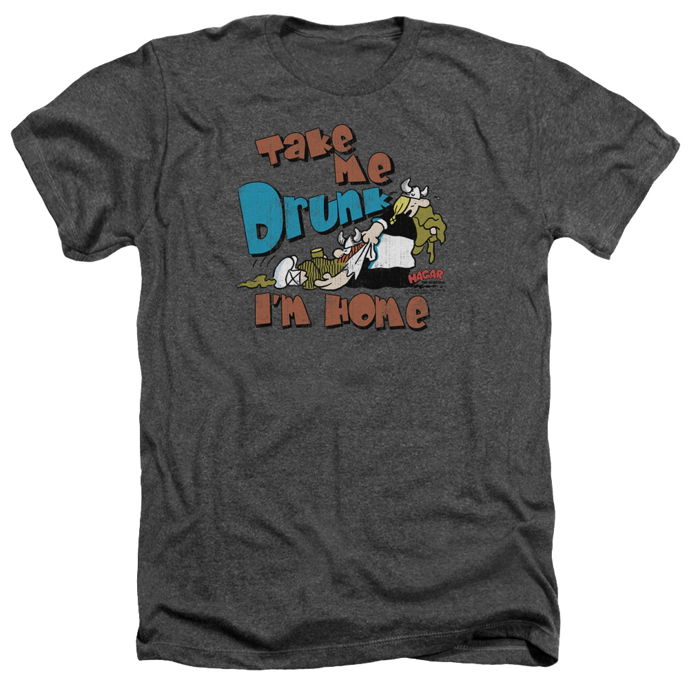 Hagar The Horrible Take Me Home Mens Heather Shirt