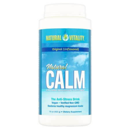 Natural Vitality Natural Calm Original  Unflavored  The Anti Stress Drink  16 Oz
