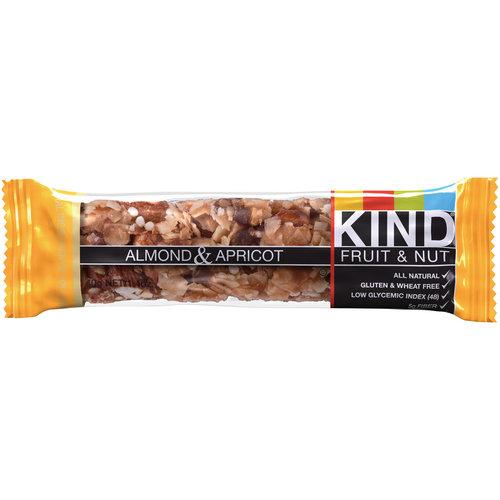 KIND Fruit & Nut Bars, Almond & Apricot, 1.4 oz, 12 Count
