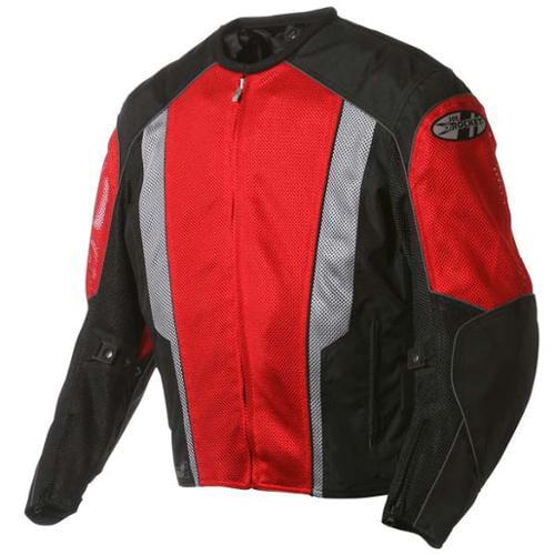 Joe Rocket Phoenix 5.0 Mesh Jacket Red/Black