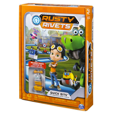 Rusty Rivets – Quick Bits Path Game Board Game with Crush Figure - Halloween Candy Crush Games