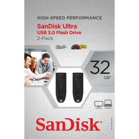 SanDisk Cruzer Ultra 32GB USB 3.0 Flash USB Drive (2