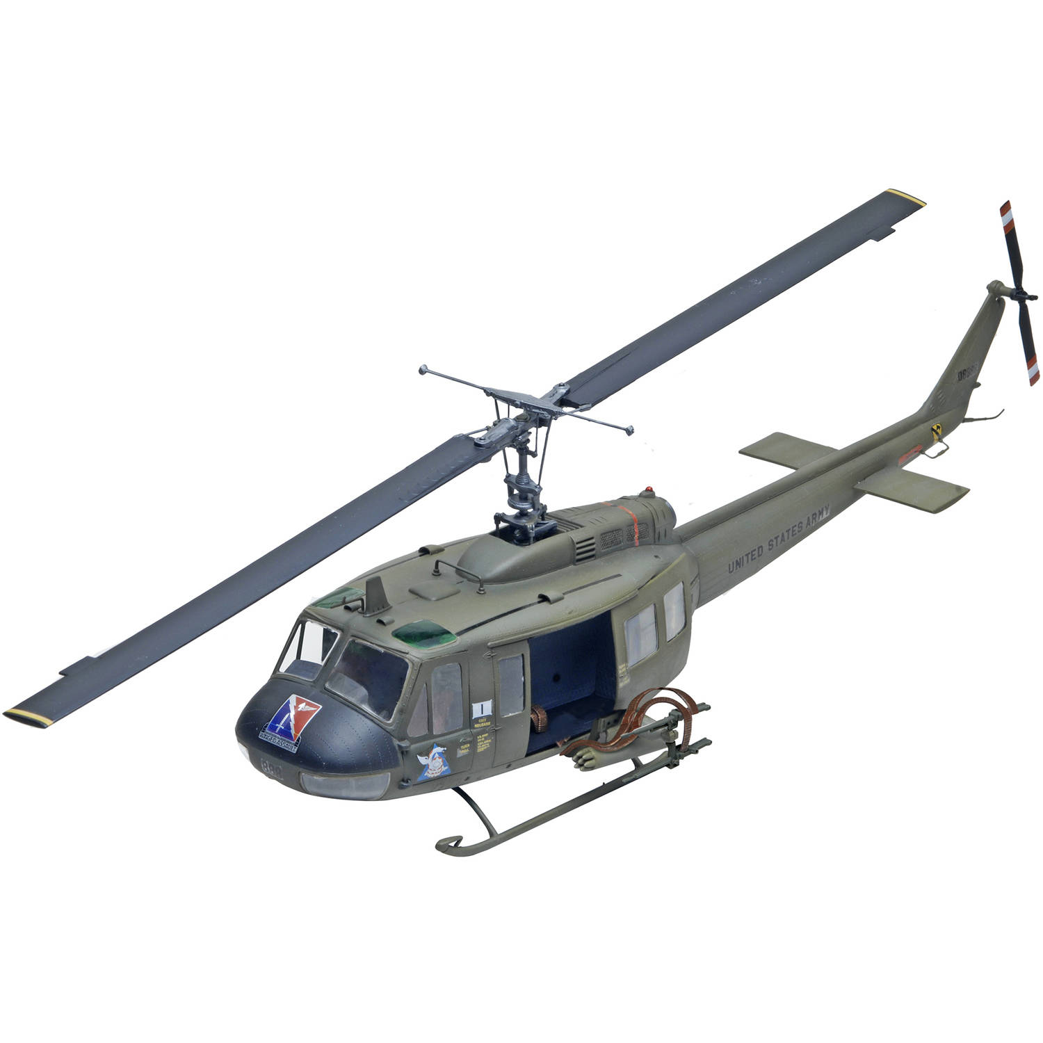 Revell 1:32 UH-1D Huey Gunship Plastic Model Kit by Revell