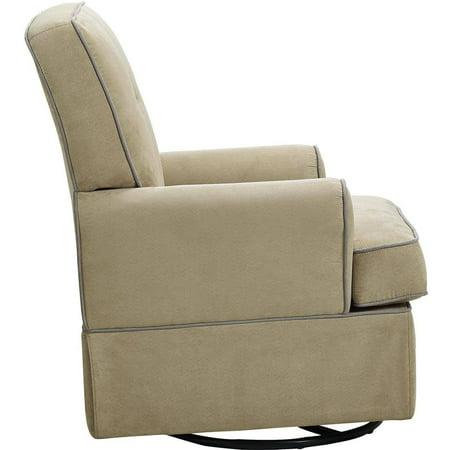 Baby Relax Tinsley Swivel Glider Beige Walmart – Baby Gliding Chair
